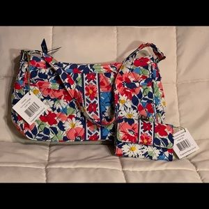 NWT Vera Bradley Cassidy with Matching Wallet